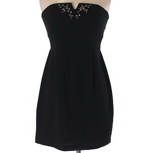 Strapless Max and Cleo black dress